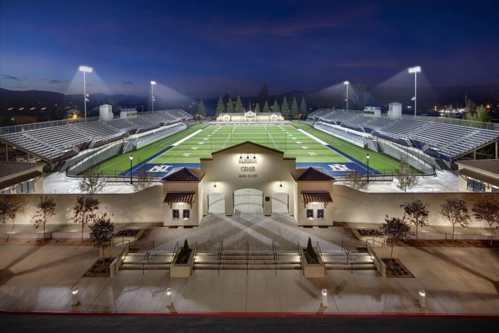 Napa Memorial Stadium Flint Builders