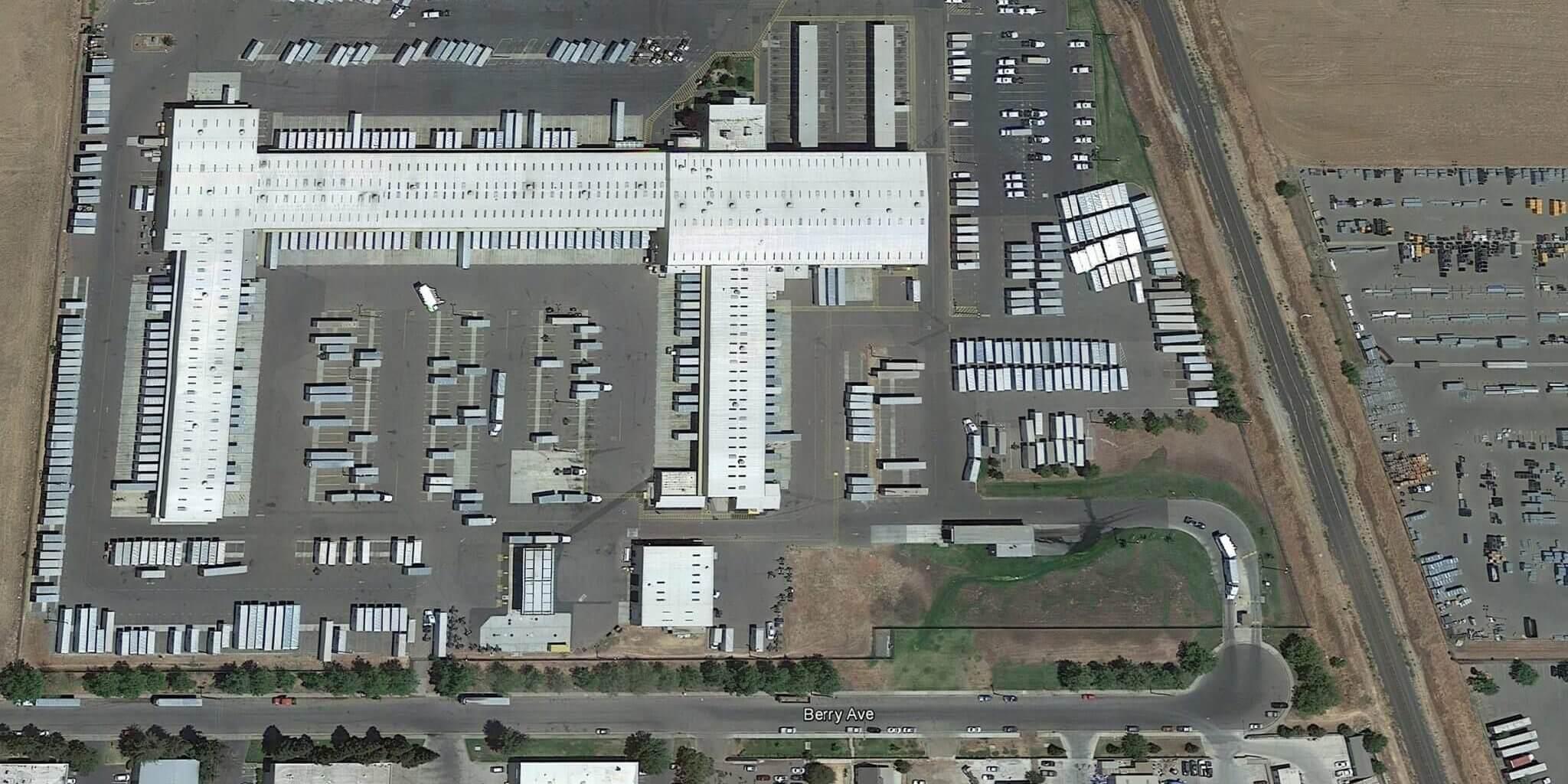 Fedex Hub Aerial